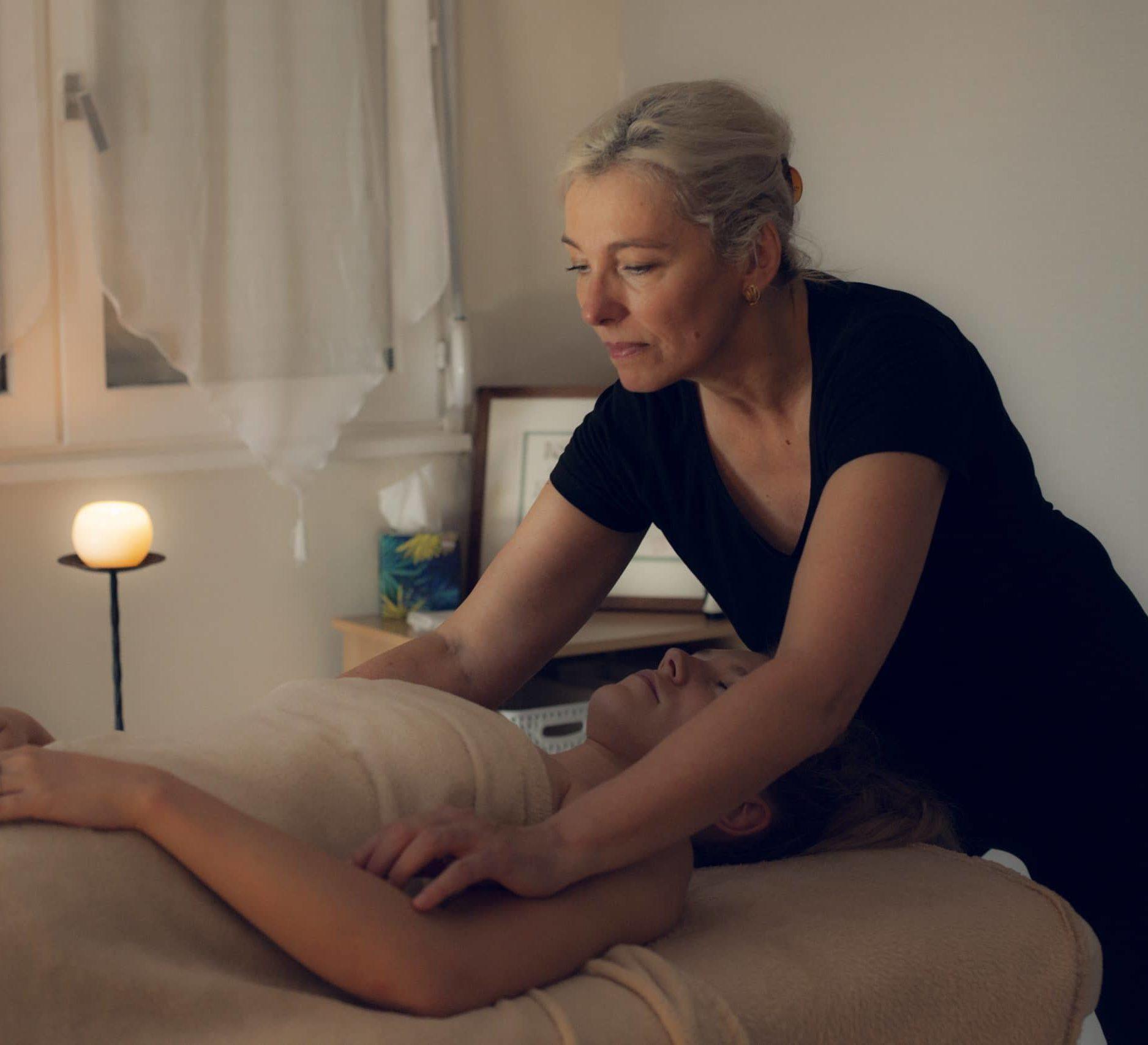 Massage haut du corp