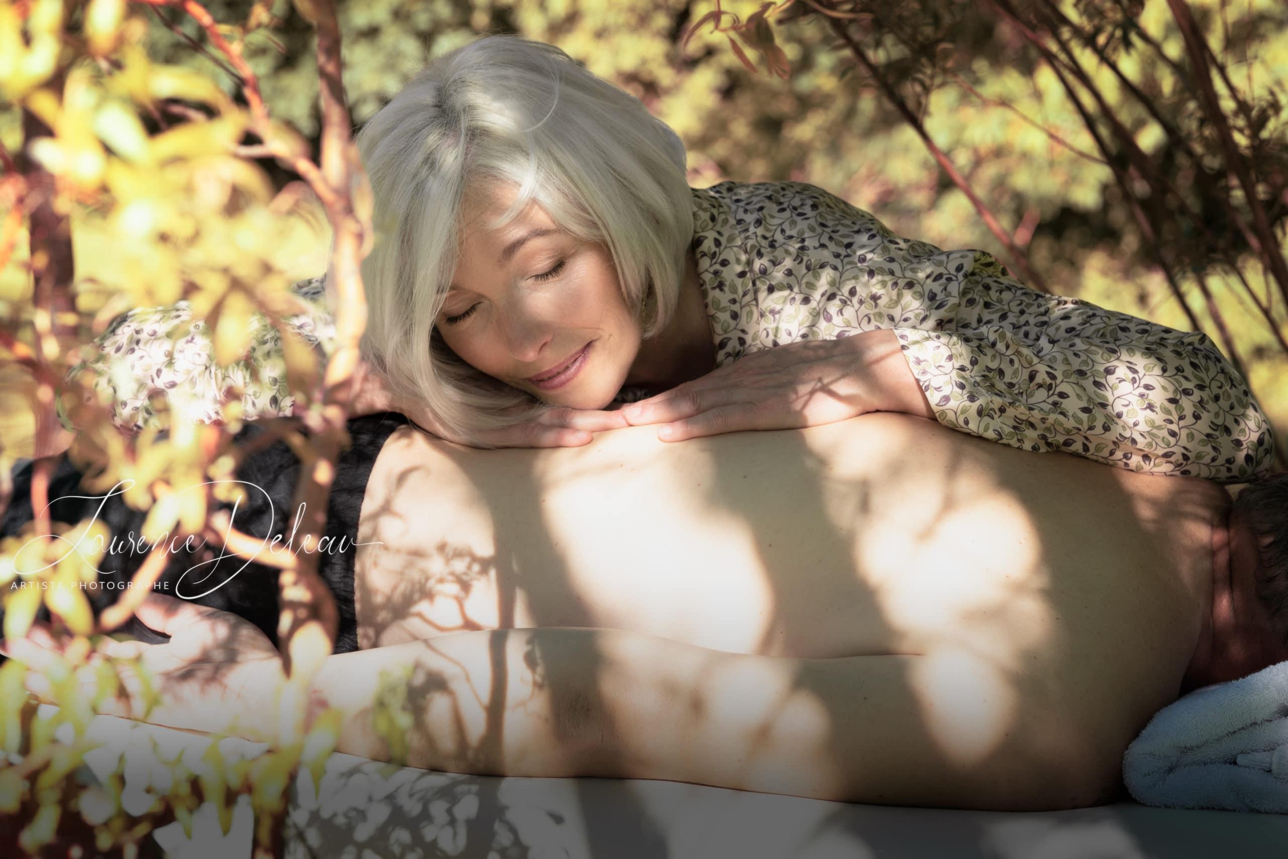 Myriam Méderlé massage dans la nature
